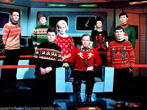 Those sweaters are pretty serious.